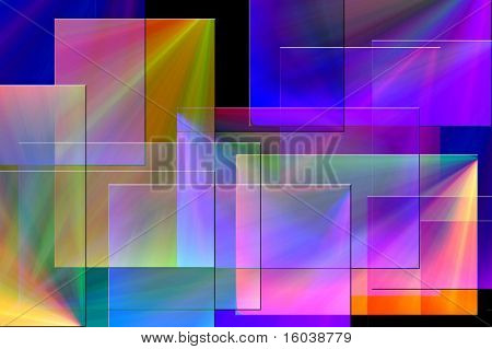 Rectilinear background