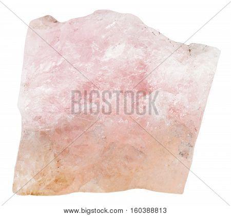 Crystal Of Rose Beryl (morganite, Vorobievite)