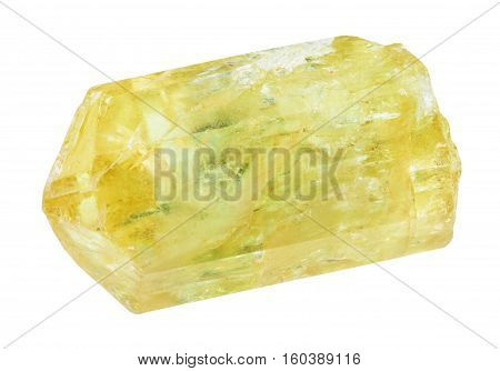 Raw Yellow Apatite ( Golden Apatite) Crystal