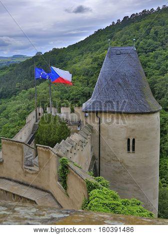 Karlstejn Castle Czech Republic a medieval castle history