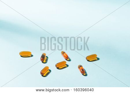Gel Capsules.  Vitamin A, E, Fish Oil, Primrose Oil, Rice Barn Oil And Other Oily Drugs.