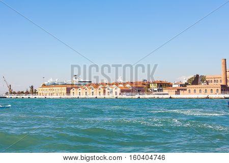 Docks Of Venetian Cruise Terminal Port