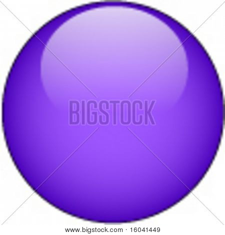 Purple Glass Web Button