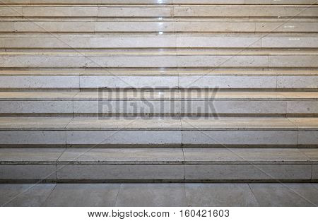 Details of gray marble stairs horizontal ight, exterior, indoors, stairway,