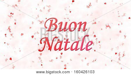 Merry Christmas Text In Italian