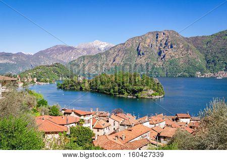 Isola Comacina Lago di Como scenic view