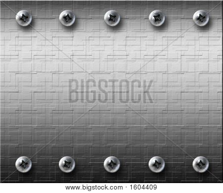 Steel Metall Plate With Bolts