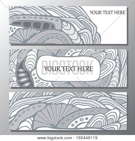 stock vector background. template for card cover poster. doodle wave pattern