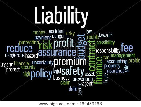Liability, Word Cloud Concept 3
