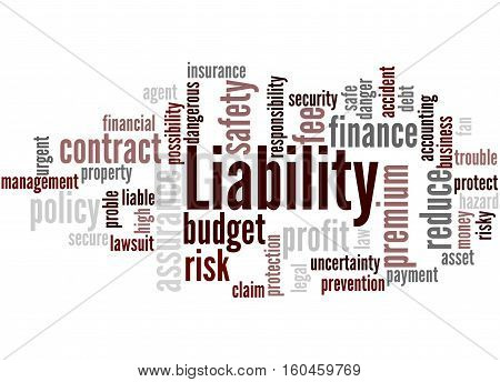 Liability, Word Cloud Concept 9