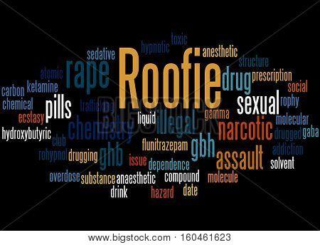 Roofie, Word Cloud Concept 3