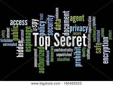 Top Secret, Word Cloud Concept 5