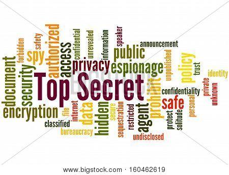 Top Secret, Word Cloud Concept 6