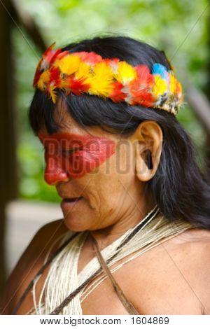 Amazon Indian Woman