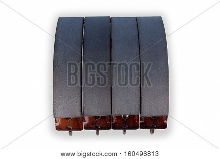 brake shoes for car, parts for brake system