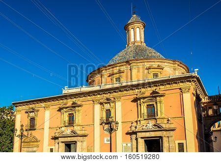 Virgen de los Desamparados Basilica in Valencia - Spain
