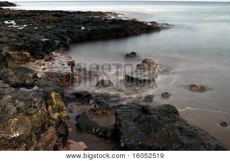 Seashore In Costa Teguise