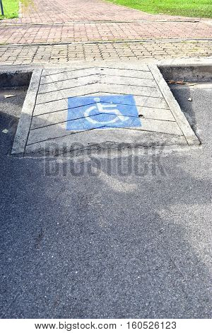 Ramps for disabled or elderly people who use wheelchairs.