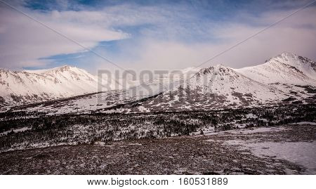 Flat Top Mountain Outdoor Park near Anchorage Alaska USA is a wonderful getaway and adventure back into the wilderness of Alaska Ice and Snow and Massive Coastal Mountains