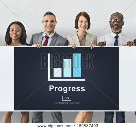 Progress Development Growth Improvement Concept