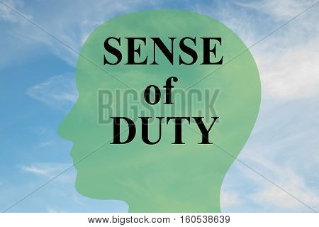 Sense Of Duty - Personality Concept