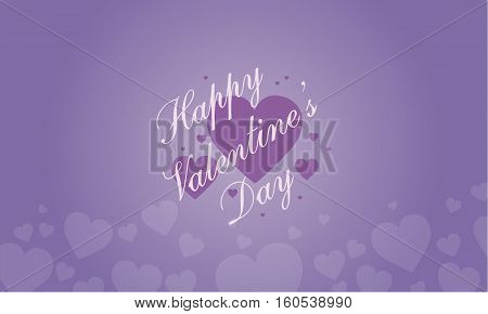 Illustration of love valentine backgrounds collection stock
