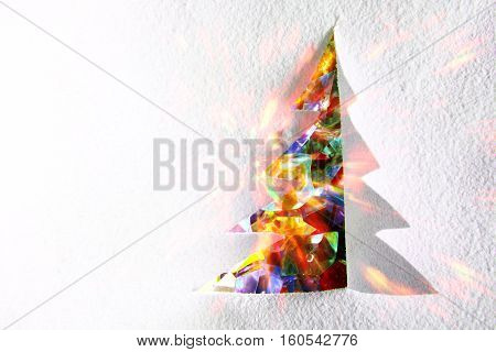 Christmas Paper Tree Decoration