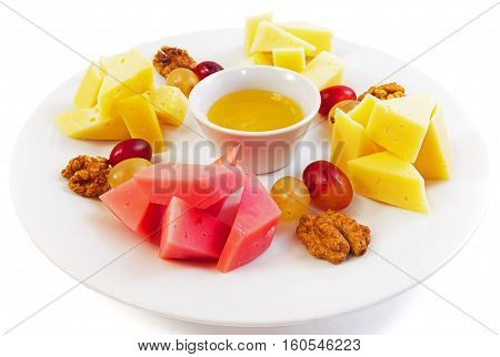 Mick fruit with nuts for Belov background