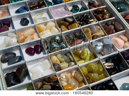 Countertop for sale with a variety of semi-precious and precious stones