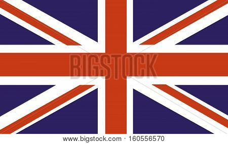 UK country Flag british english flag vector
