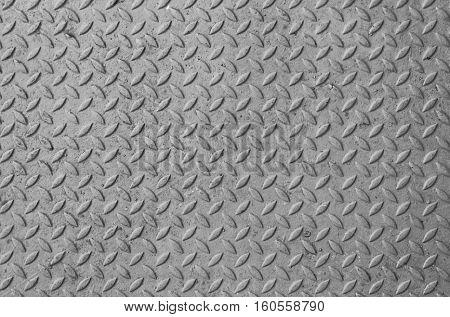 Steel floor black and white  background for design.