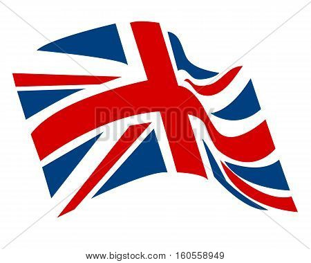 UK Flag Icon Vector british flag english flag vector