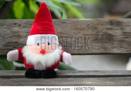 Doll. Santa Claus. Dolls made of fabric for children.