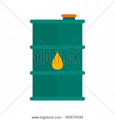 Barrel, oil, fuel icon vector image. Can also be used for Industrial Process. Suitable for web apps, mobile apps and print media.