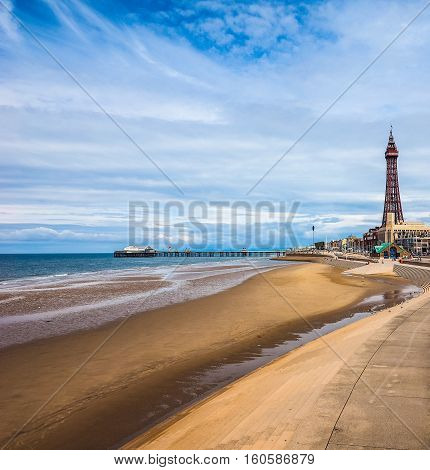The Blackpool Tower (hdr)