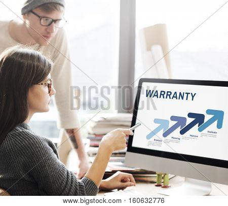 Assurance Quality Standard Warranty Guarantee Concept