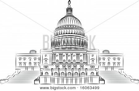 Capitol hill illustration