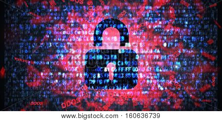 DDOS Attack, Infection trojan, virus attacks Data protection