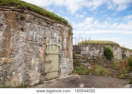 Old Abandoned Concrete Bunker