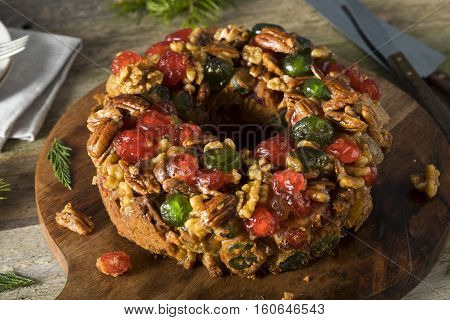 Homemade Festive Holiday Fruitcake