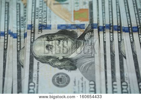 USA dollar money USA dollar money banknotes background wealth concept