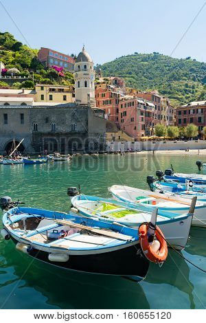 The Fishing Boats In Riomaggiore - Cinque Terre vacation in Italy