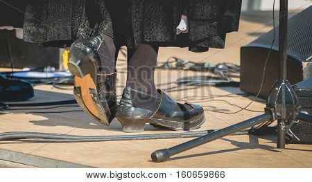 Old Traditional Tap Shoes