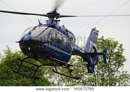 German Border Patrol Helicopter