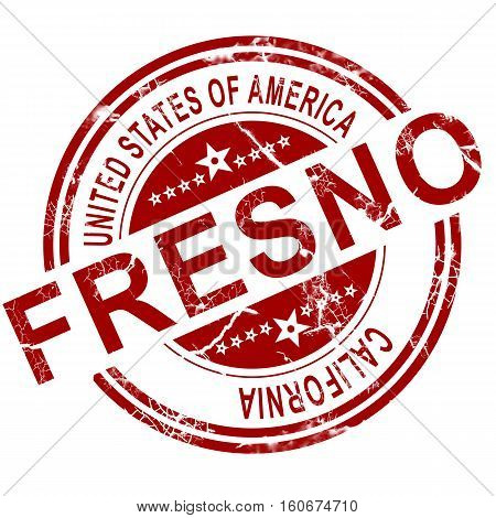 Fresno With White Background