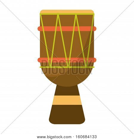 brasilian drum percussion bongo vector illustration eps 10