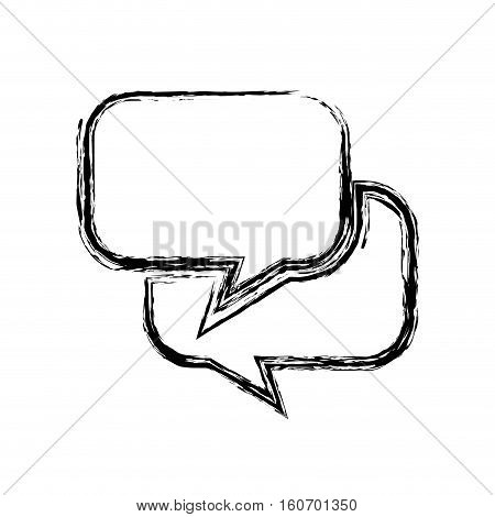 speech buble isolated icon vector illustration design
