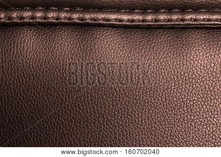 Brown leather texture leather background for design with copy space for text or image. Pattern of leather that occurs natural.