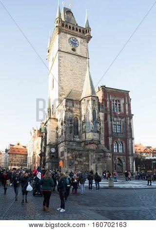 Famous Old Prague Astronomical Clock -prague Orloj