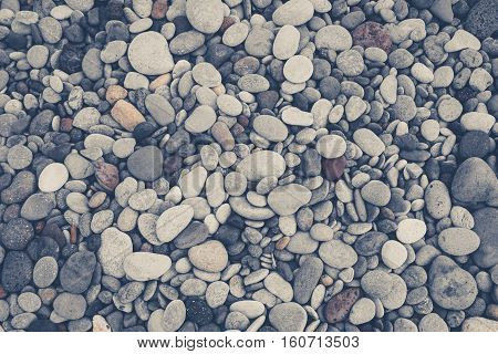 stone background -  pebble stones - stone background -  pebble stones